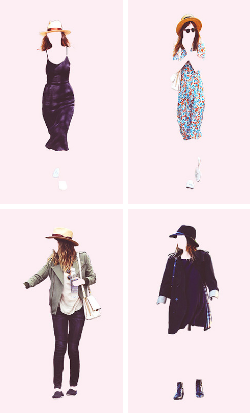 Dakota Johnson Outfits minimal posters. (Part 1)