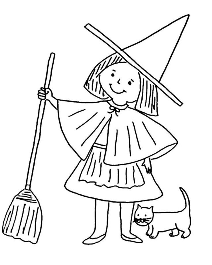 witch coloring pages | witch coloring pages 3 | Projects to Try ...