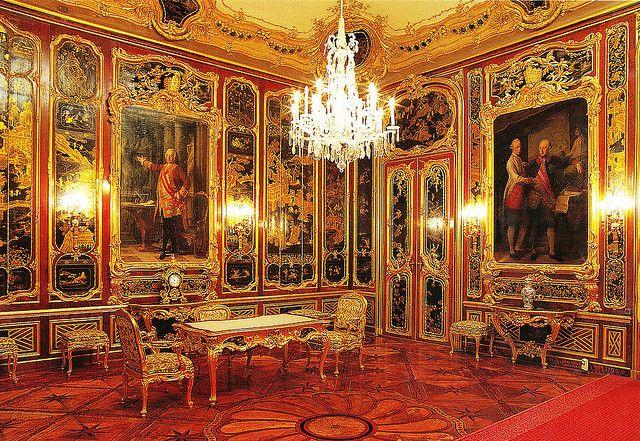Schönbrunn Palace, Vienna (Austria, 1696-1701,  architect: Johann Bernhard Fischer von Erlach)