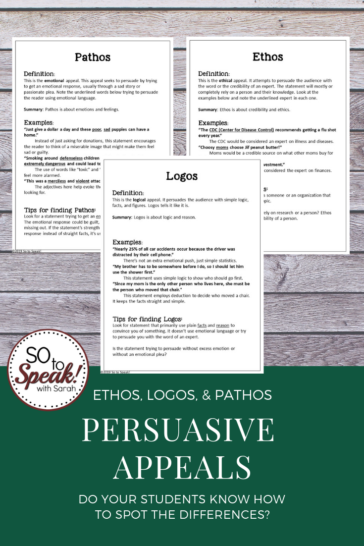 Persuasive Appeals why bother? Persuasion, Persuasive