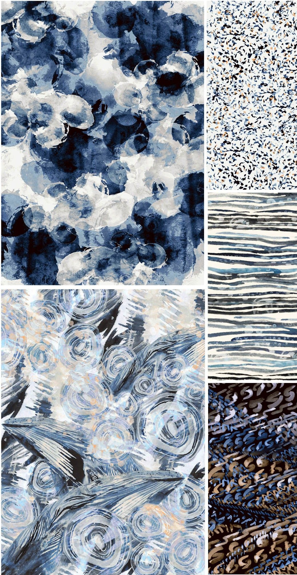 "From The Textile Design Lab: Chelsea's Challenge – ""Tidal Beachcomber"" Collections"