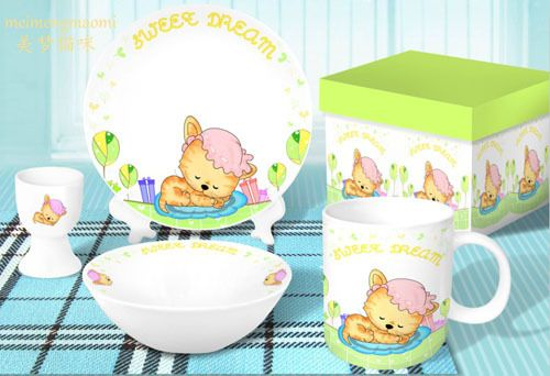 Cartoon horse design ceramic children dinnerware sets, View cartoon horse design dinnerware sets, YTY, YTY Product Details from Shenzhen Yongtaiyuan Porcelain Co., Ltd. on Alibaba.com