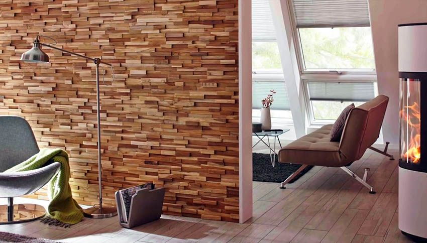 Accent Wall Ideas Interior Designs Wood Accent Wall Wood Paneling Teak