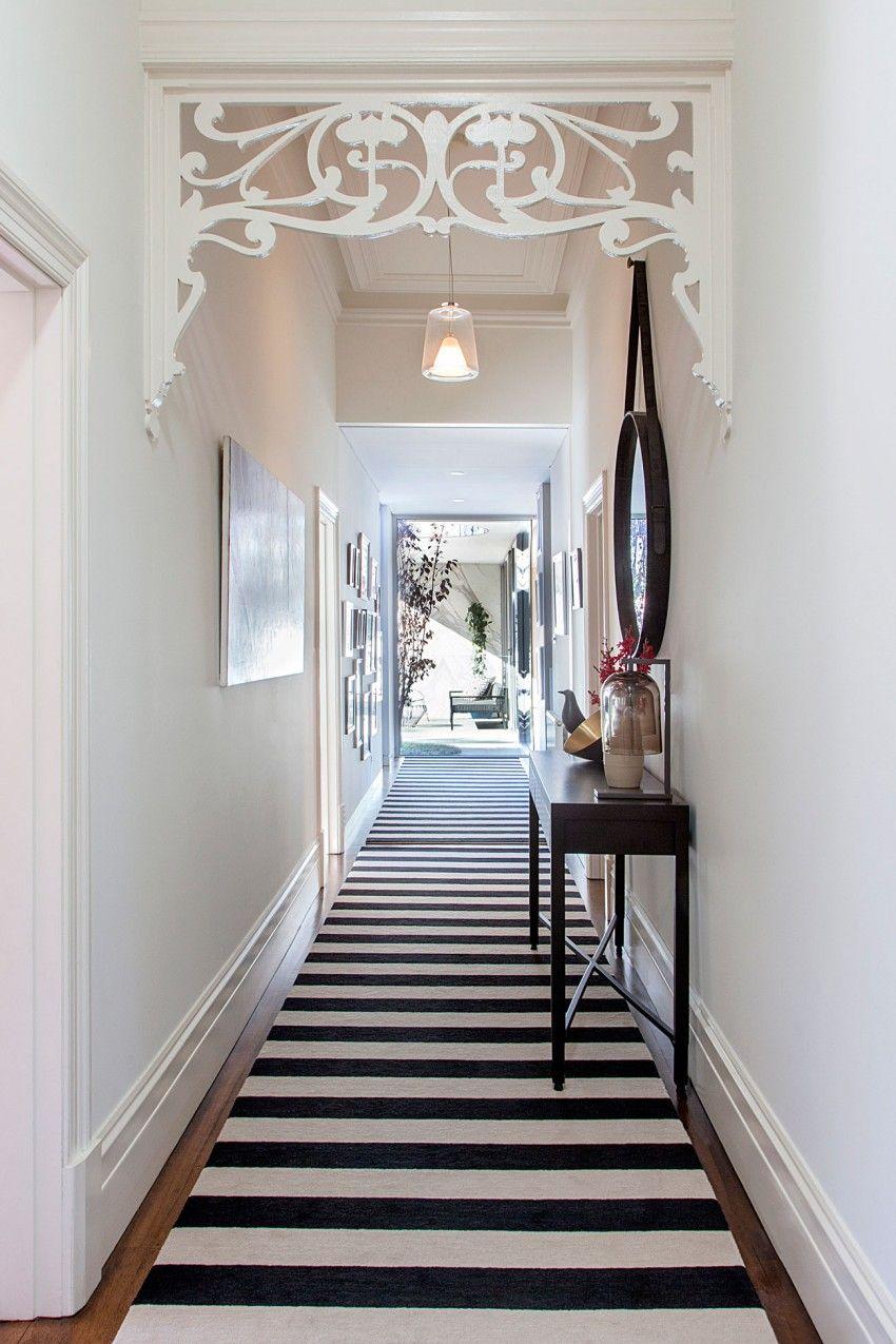 Edwardian hallway lighting  Creative Extension to Classic Edwardian Villa Malvern East