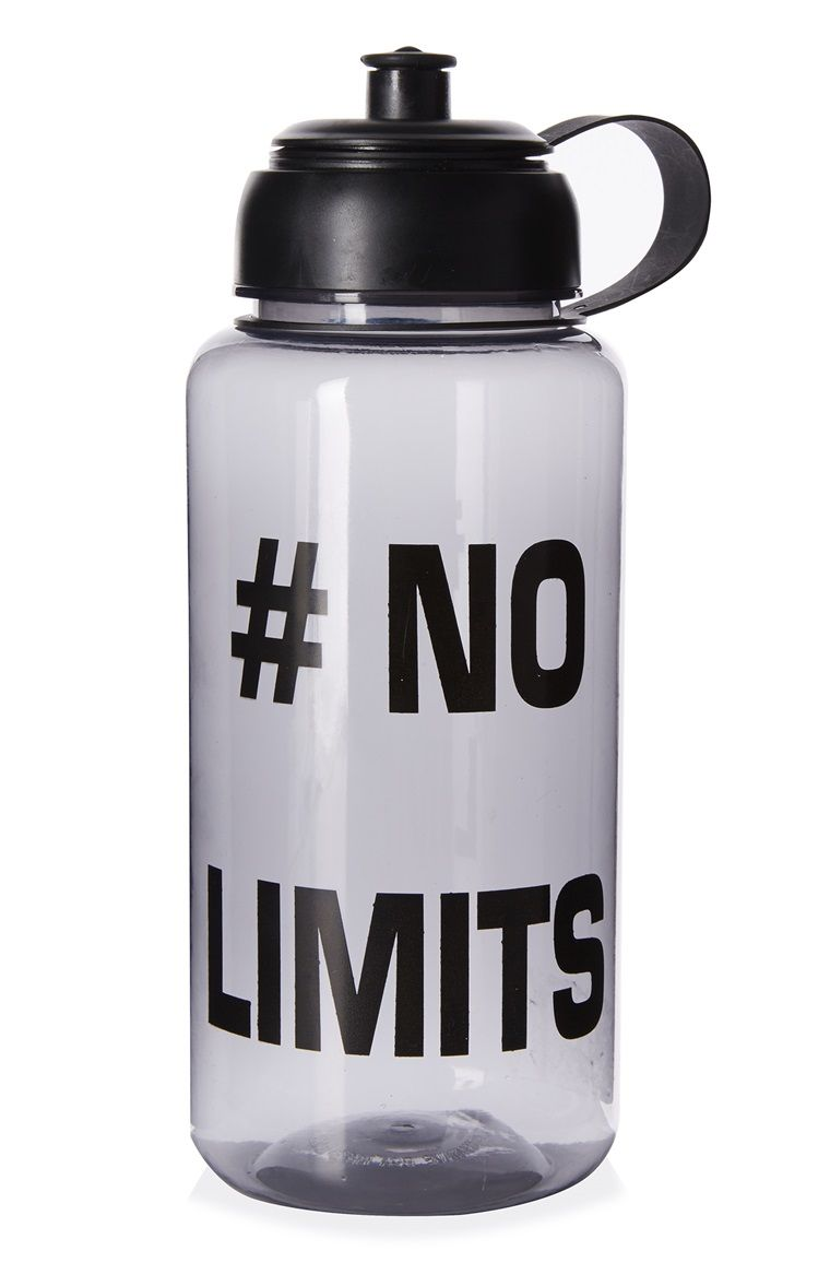 the primark nolimits water bottle will get you through. Black Bedroom Furniture Sets. Home Design Ideas