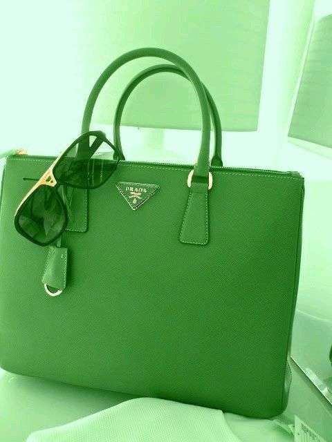 Photo of #greenleatherhandbag – Prada Handbags – Ideas of Prada Handbags #prada #handbags…