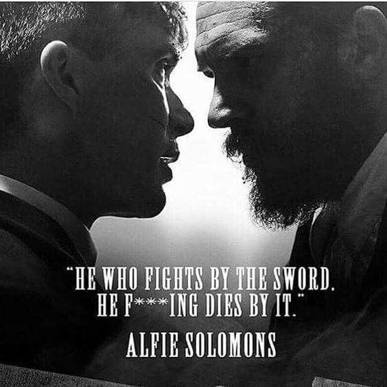 ...says Alfie | Peaky blinders quotes, Peaky blinders ...