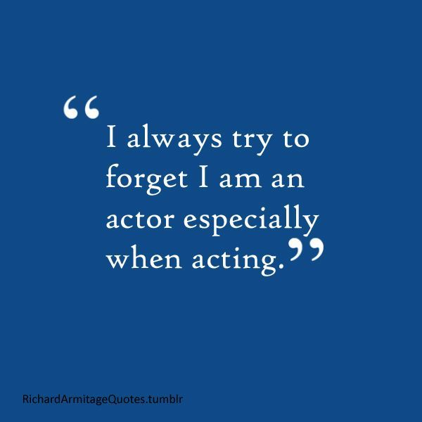 Richard Armitage Quotes: Photo