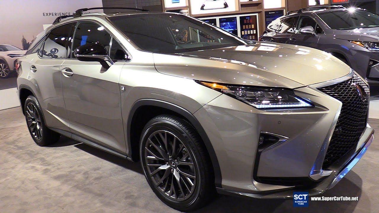 2018 Lexus RX 350 F Sport Exterior and Interior
