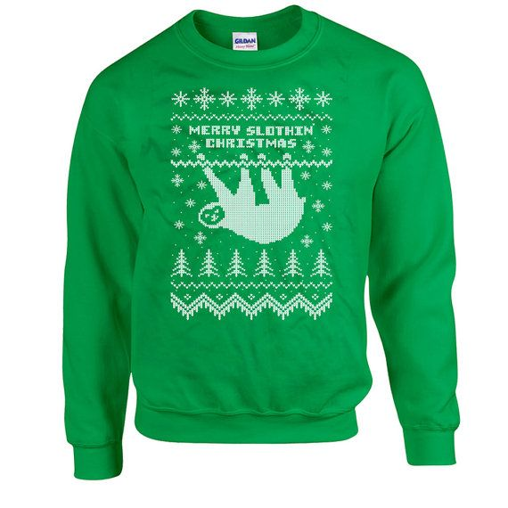 Funny Christmas Sweater For the same design on a T-Shirt