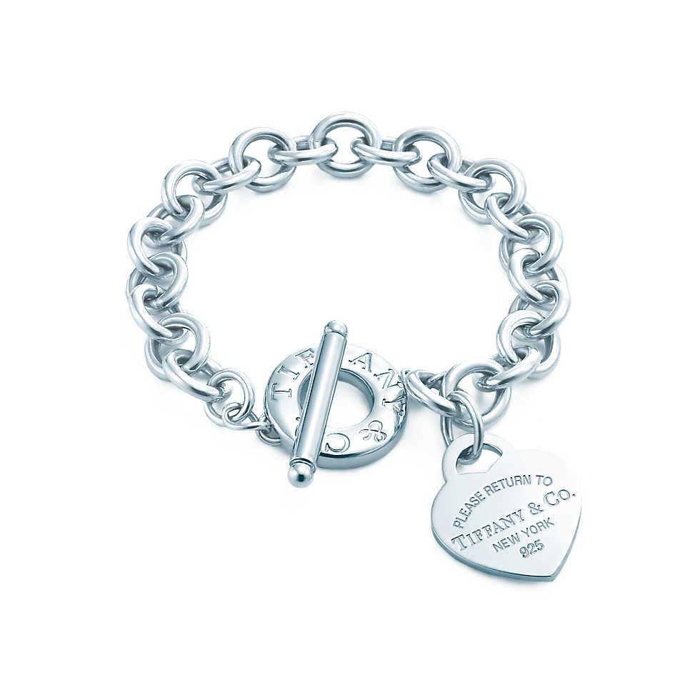 Return To Tiffany Heart Tag Toggle Bracelet In Sterling Silver Co Have It Love