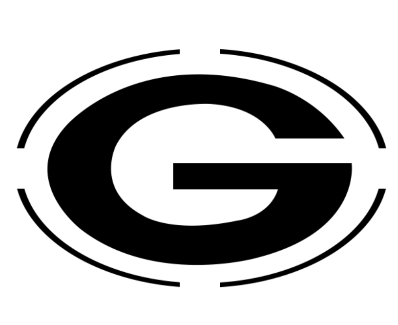 picture relating to Green Bay Packers Printable Logo known as Totally free printable Packers emblem pumpkin carving template