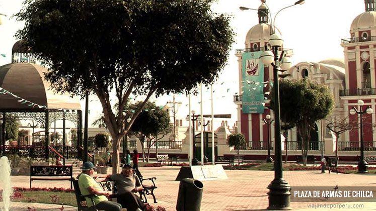 02 de enero | Aniversario del distrito de #Chilca ( #Lima ). Foto: Plaza de Armas del distrito. Cortesía de la Municipalidad de Chilca.