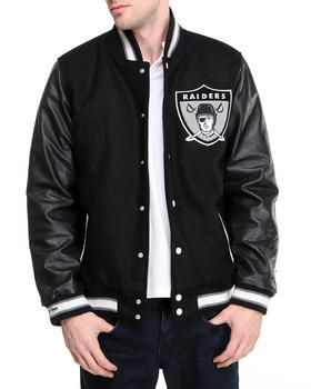 Buy Oakland Raiders NFL Woolleather Varsity Jacket (traditional fit  for sale