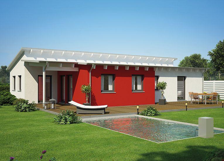 Fassadengestaltung beispiele bungalow  Fertighaus Bungalow 109 | Haus | Pinterest | Fertighaus bungalow ...