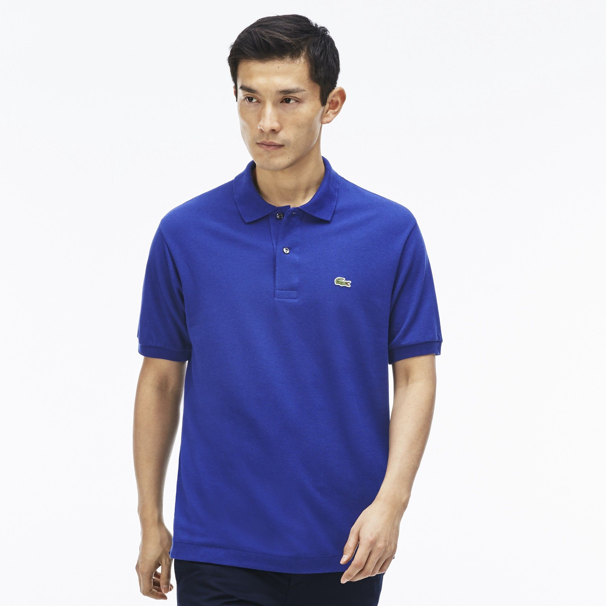 c444a9e0 LACOSTE Men's Classic Piqué L.12.12 Polo Shirt - varsity blue. #lacoste  #cloth #