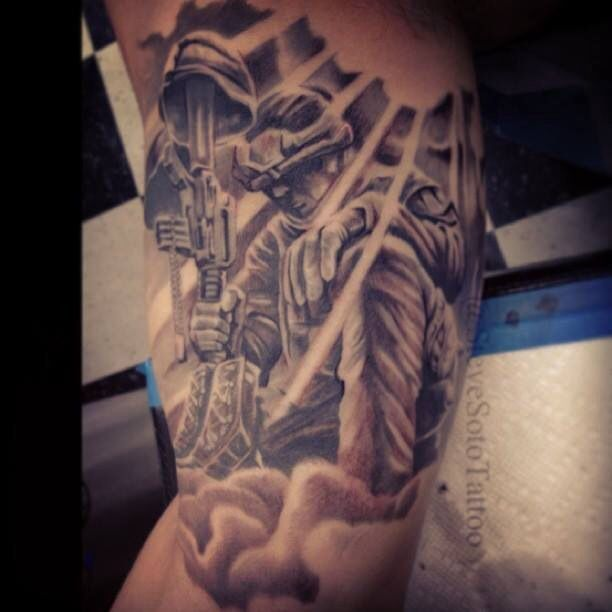 Pin On Soldier Angel Tattoos