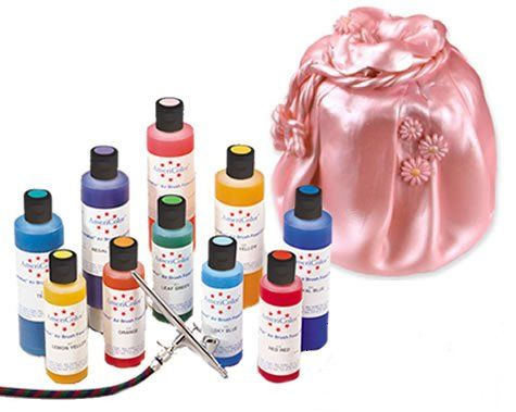 Amazon.com: Americolor Amerimist Edible Paint and Airbrush Food ...