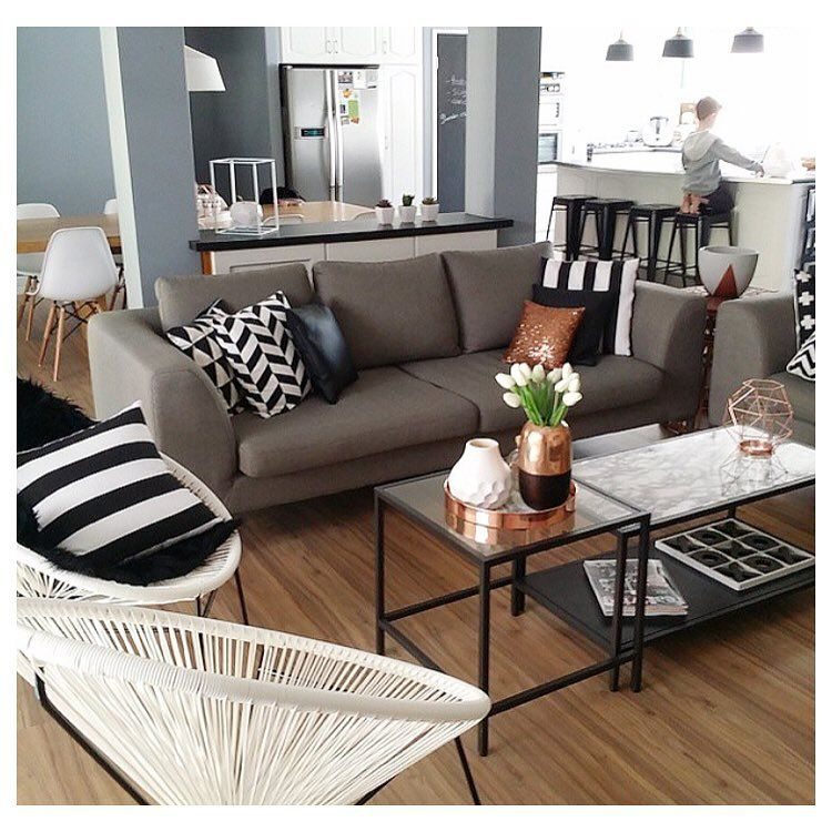 Living room with kmart chairs | 1 bedroom apartment ideas ...