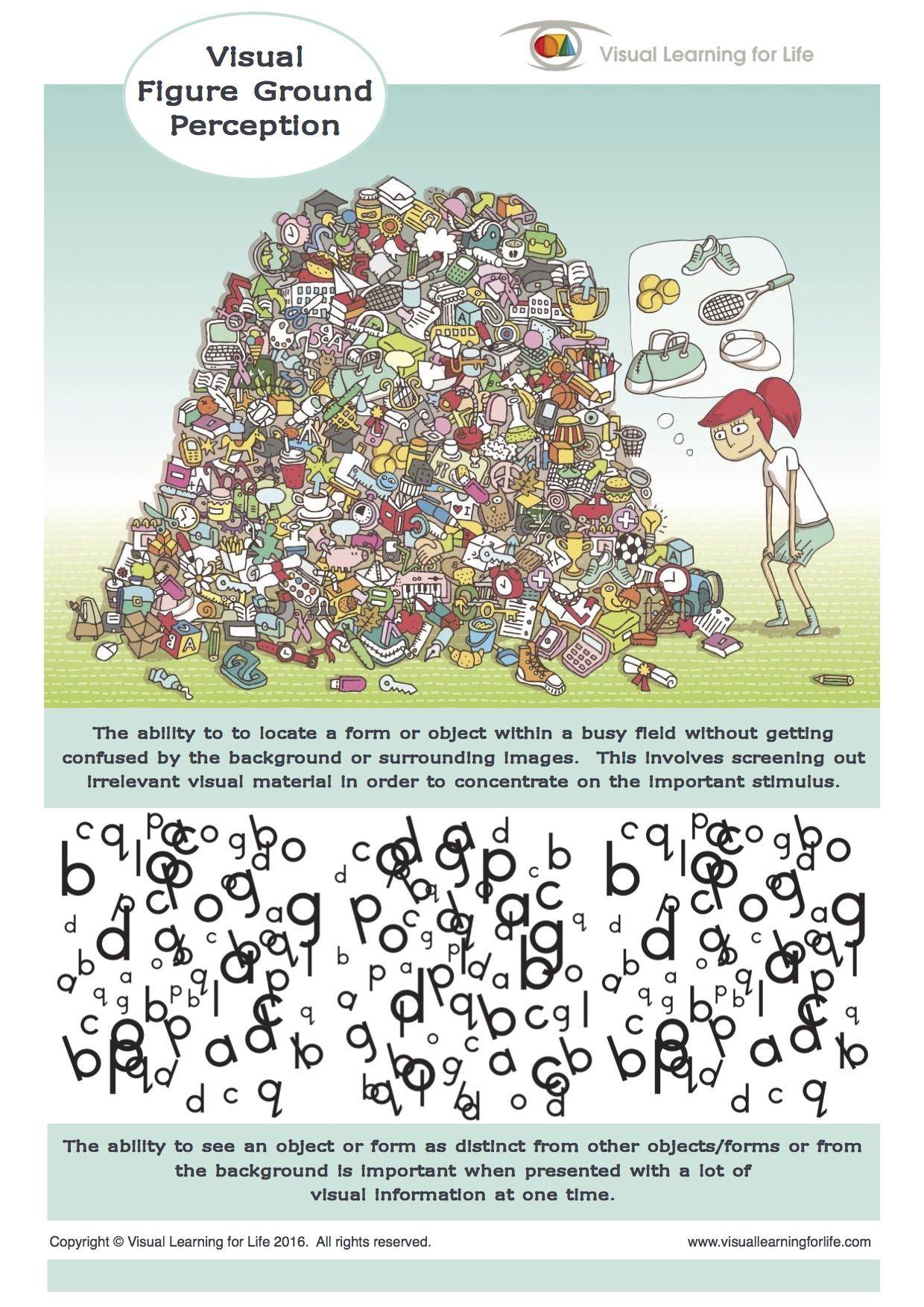 Pin By Silvia Sanchez On Discrimination Visuelle Figure Ground Perception Visual Perception Activities Visual Perception [ 1753 x 1240 Pixel ]