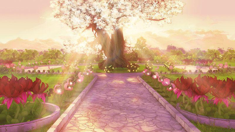 Artstation Magic Garden Rasel Scenery Background Best Background Images Anime Scenery
