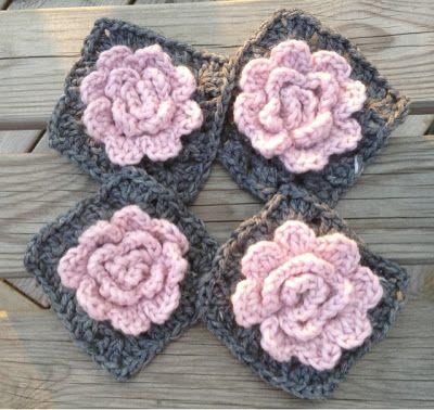 Cayene Pysslar: Granny rose