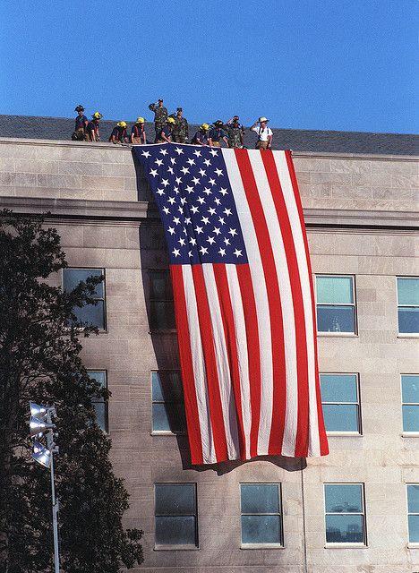 Pentagon Large American Flag Flag Pentagon