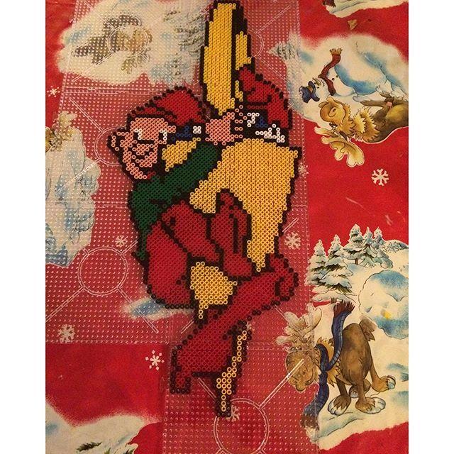 Christmas hama perler beads by tinaboepedersen