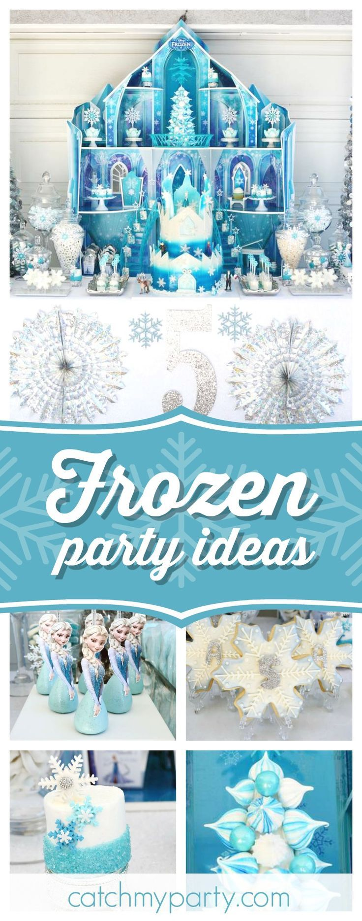 Swoon over this wonderful Frozen princess birthday party