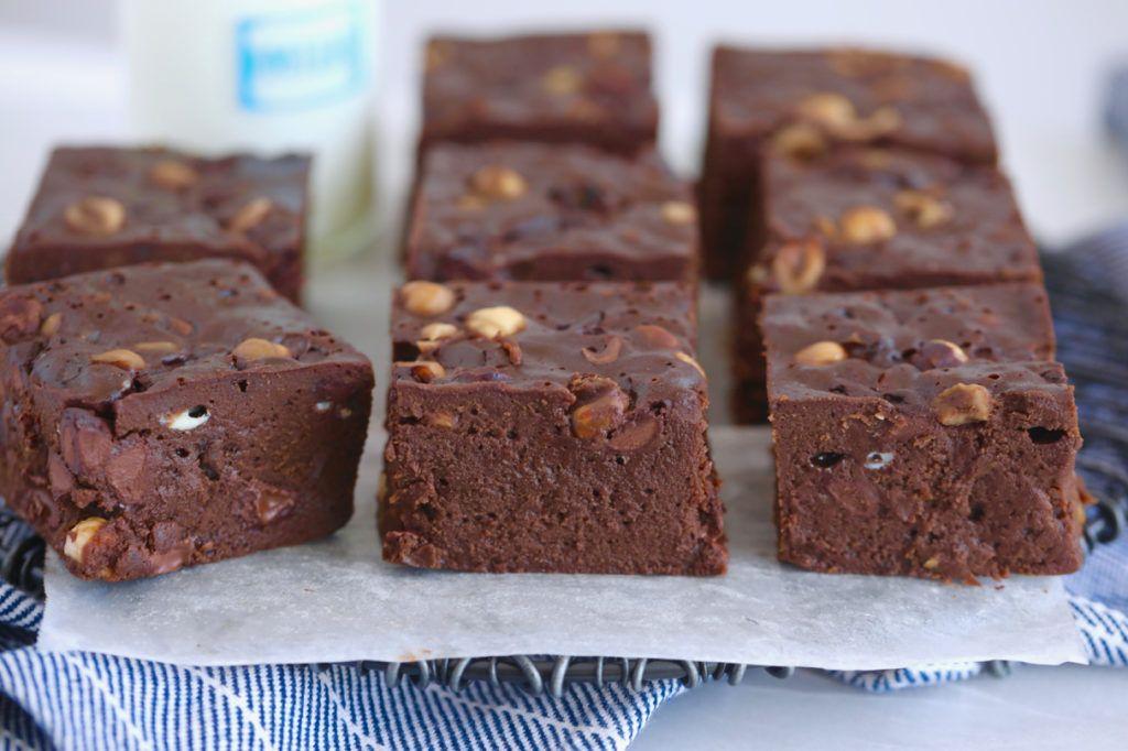 Simple Stovetop Brownies Recipe Brownie Recipes Bigger Bolder