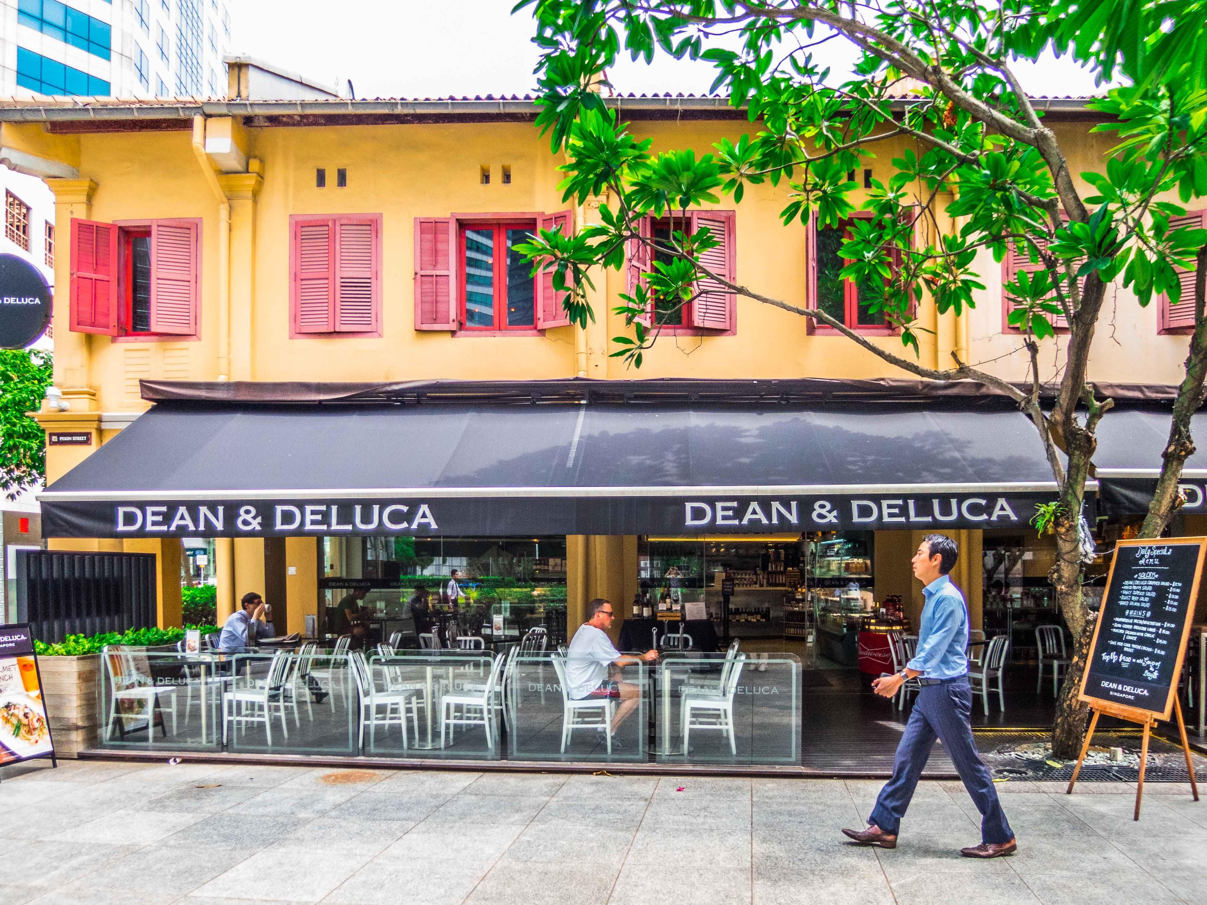 Dean Deluca 47 Pekin Street Far East Square Cafe Cool Stuff Singapore