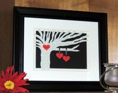 Personalized Wedding gift ANNIVERSARY gift by DomesticNotions
