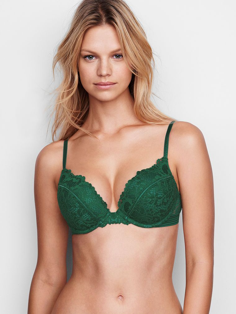 26961d30fb3d0 Meet the Bombshell Limited-edition Lace Add-2-Cups Bra from Victoria s  Secret. The ultimate lift-loving push-up instantly adds 2 full cup sizes  for maximum ...