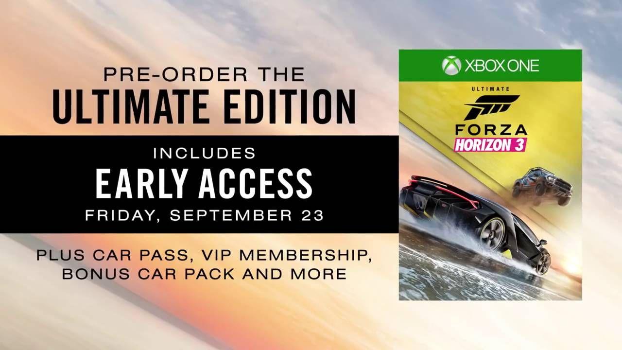 Forza Horizon 3 2016 Cadillac CTS   V Sedan Gameplay Trailer