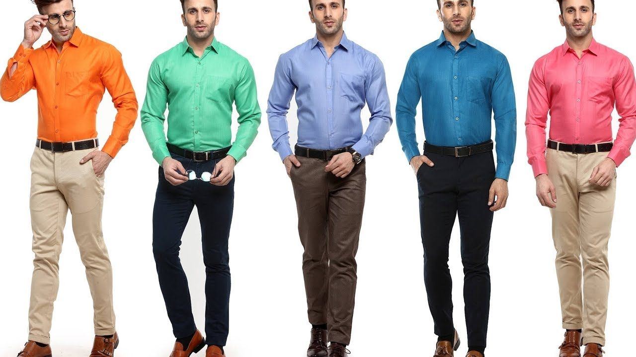 pant shirt best formal dress color combination for men