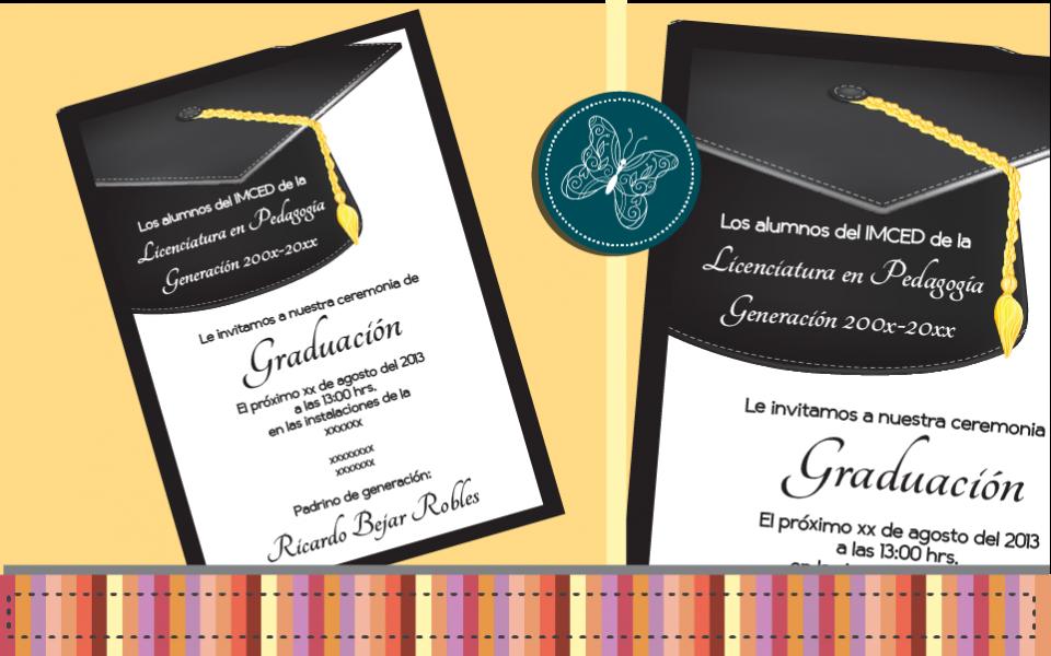 Invitaciones Para Graduación Invitaciones Para Graduacion