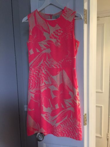 #Essentiel antwerp #beautiful neon pink and nude #dress,  View more on the LINK: http://www.zeppy.io/product/gb/2/162174119475/