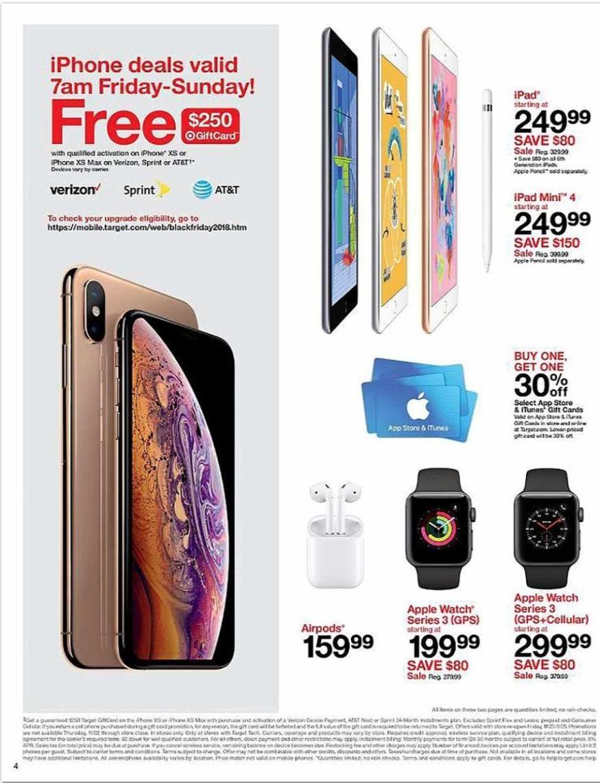 Print Ad Target Black Friday 2018 Black friday target