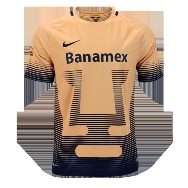 b295867510ea9 Jersey – Pumas UNAM Nike – 100% Poliester