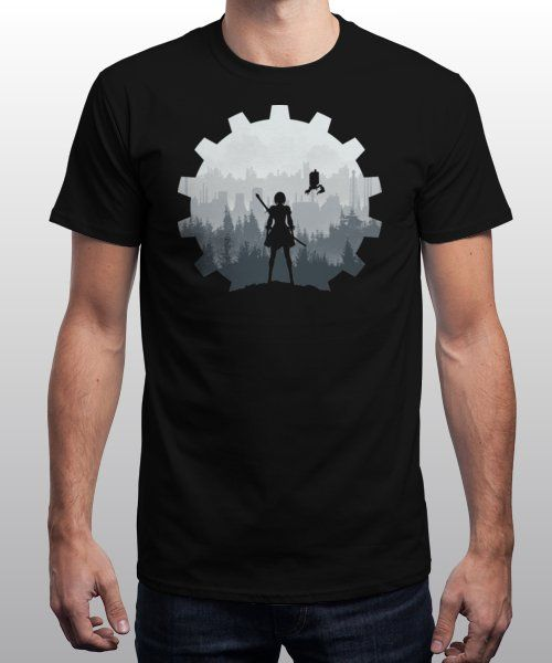 """""""Weight of the World"""" is today's £9/€11/$12 tee for 24 hours only on Pin… 