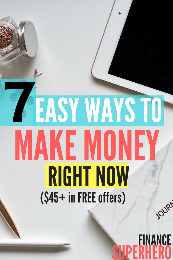 Need Some Quick Cash These Awesome Tips Helped Me Make Money Fast And For Free Makemoney Makemoneyonline Savinghacks