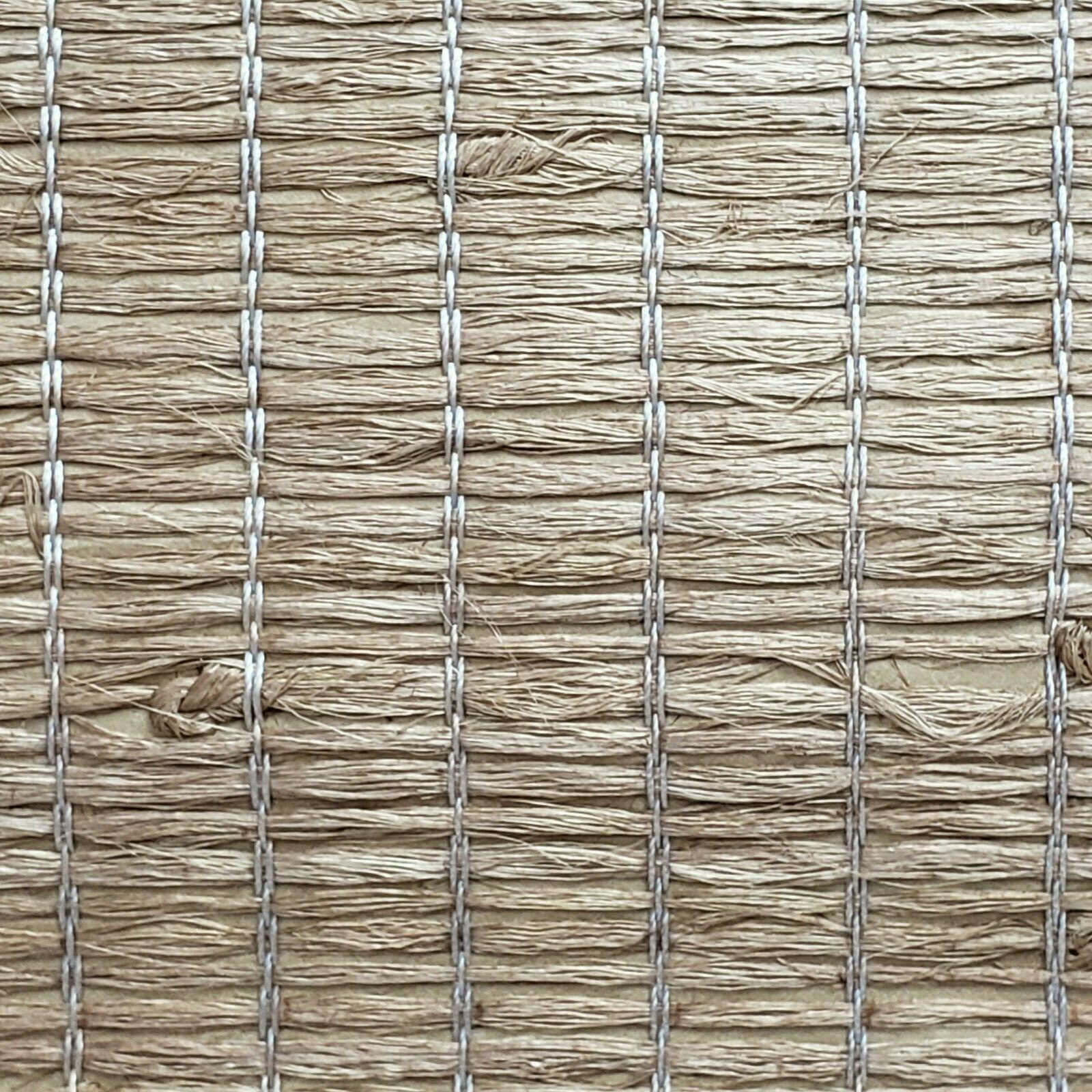 Wallpaper Real Natural Grasscloth silky Xiao Hong Light
