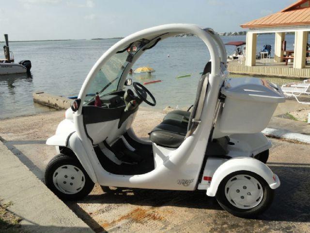 2002 Gem E825 Electric Car Golf Cart White 9 000 Miles For In Homestead Fl