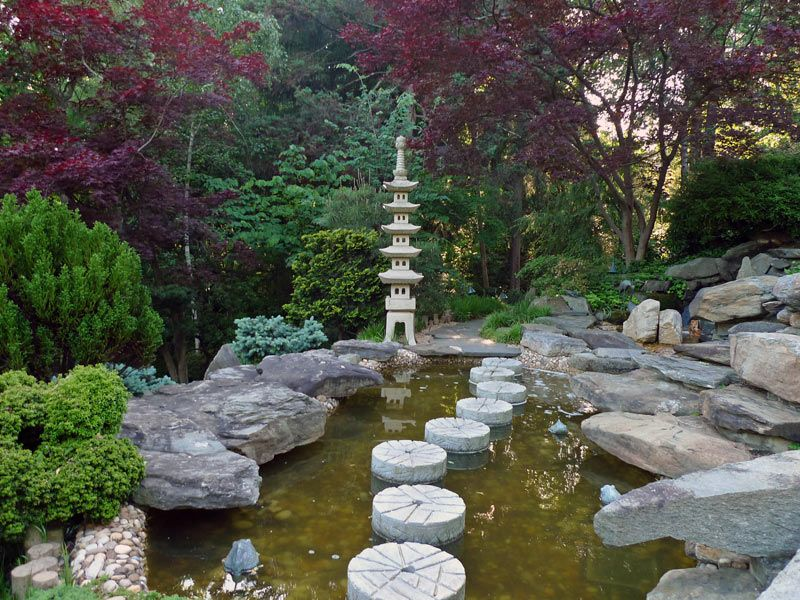 Japanese these gardens in america primarily reference for Japanese garden design principles