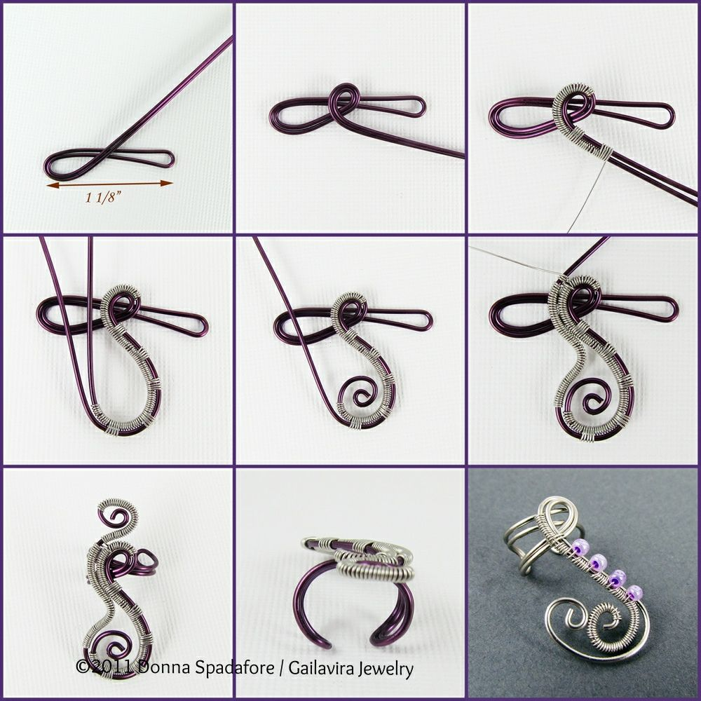 Woven swirls mini tutorial tutorials wire wrapping and craft here is my first wire wrapping tutorial this tutorial is meant to give people a first step towards advanced wire wrapping which is why i call it a be baditri Images
