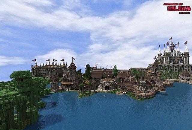 Kingdom of Galekin Map   http://niceminecraft.net/kingdom…   Kingdom ...