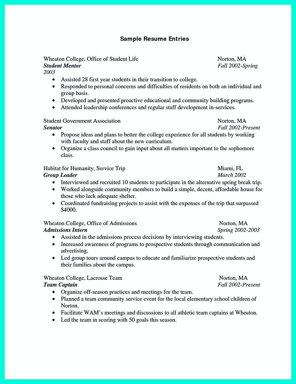 Resume Templates For Recent College Graduates College Graduate Resume Is Neededif You Think Resume Is Not