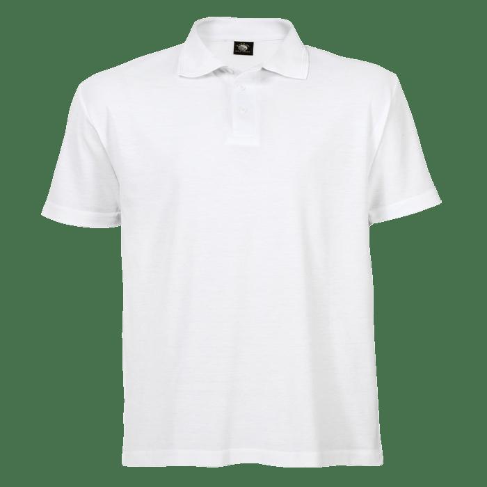Download White Golfer Blank Free Tshirt Template Golf Shirts Shirt Template Mens Tops
