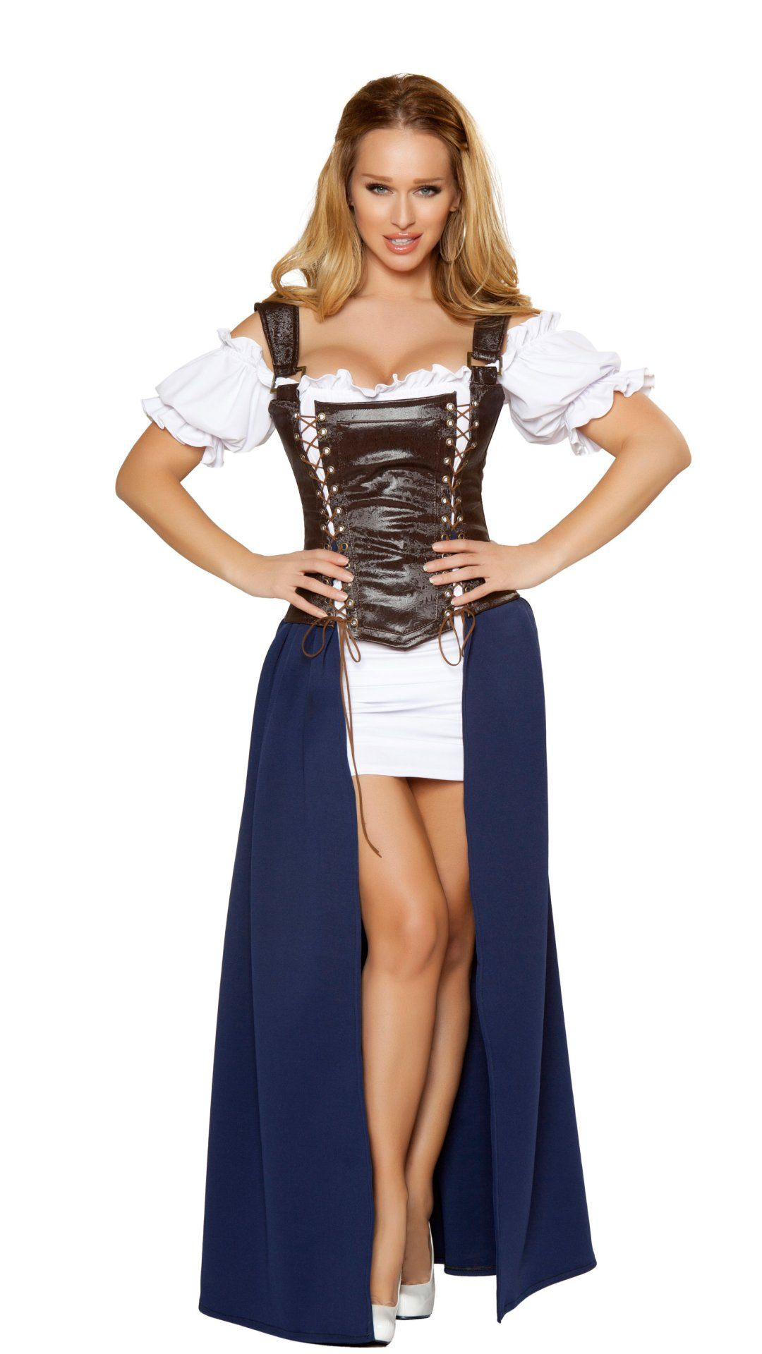 Sexy adult medieval wench costume role