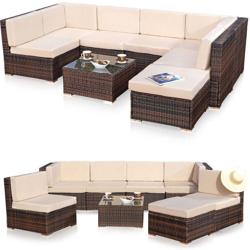 XXL jardin meubles de salon, groupe de meubles de jardin ...